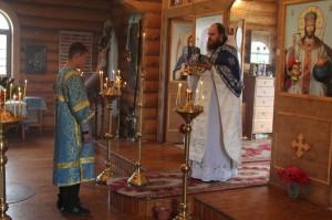 31 августа 2014 года, в Неделю 12-ю по Пятидесятнице и день памяти мучеников Флора и Лавра,