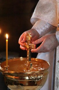 18 января 2015 года, в день Навечерия Богоявления (Крещенский сочельник)
