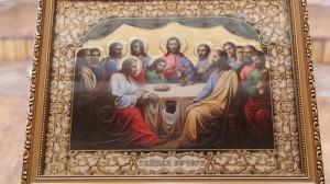 «9 апреля 2015 года, Богослужение Великого Четверга. Воспоминание Тайной Вечери».