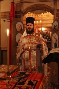 «12 апреля 2015 года, Пасхальное Богослужение в Казанском храме с.Восход».